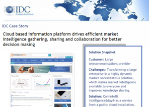 Market-Intelligence-Portal IDC-Case-Study